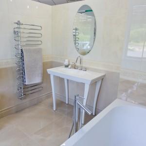 Vzorková koupelna ve studiu Gremis - elegantní řešení