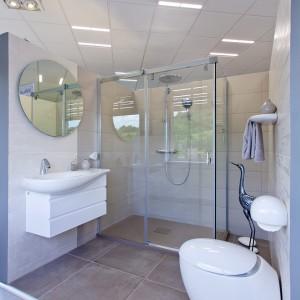 Vzorková koupelna ve studiu Gremis se vším vybavením