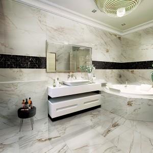 Inspirace koupelnami Alfalux - celkový pohled na řešení koupelny