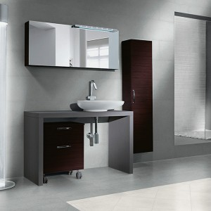 Inspirace koupelnami Alfalux - kontrastní varianta provedení