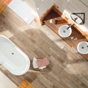 Inspirace koupelnami Rako - pohled na koupelnu shora