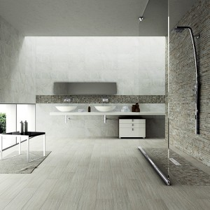 Inspirace koupelnami Alfalux - prostorná koupelna s moderními prvky
