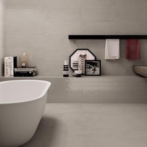 Inspirace koupelnami Ceramiche Supergres - moderní koupelna v šedém odstínu