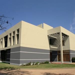 Moderní budova s fasádou Ceresit
