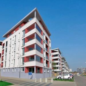 Moderní bytové domy s fasádou Ceresit