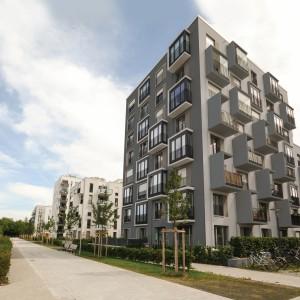 Fasáda Ceresit na moderních bytových domech