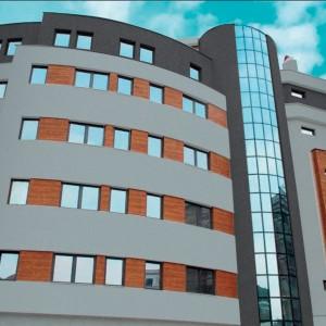Fasáda Ceresit na moderní administrativní budově