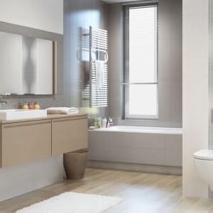 Inspirace koupelnami Paradyż - elegantní koupelna s moderními prvky