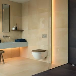 Inspirace koupelnami Paradyż - moderní koupelna s podsvícením