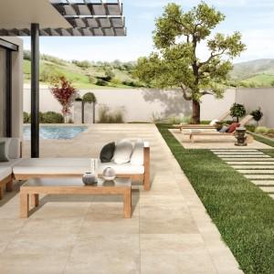 Keramická dlažba Ceramiche Supergres v nabídce obchodu Gremis - zahradní využití produktu