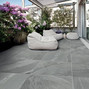 Keramická dlažba Alfalux v nabídce obchodu Gremis na terase domu