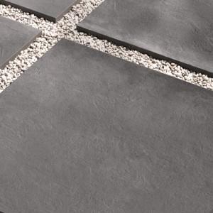 Keramická dlažba Ceramiche Supergres v nabídce obchodu Gremis - velké bloky šedé dlažby