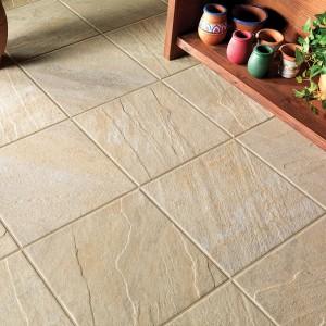 Keramická dlažba Alfalux v nabídce obchodu Gremis v pískovém odstínu