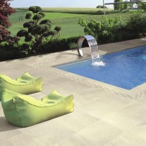 Keramická dlažba Ceramiche Supergres v nabídce obchodu Gremis - písková dlažba kolem bazénu