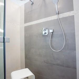 Vzorková koupelna ve studiu Gremis - moderní prostor sprchy