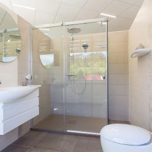 Vzorková koupelna ve studiu Gremis - prostorové řešení koupelny