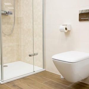 Vzorková koupelna ve studiu Gremis - řešení pro malé prostory