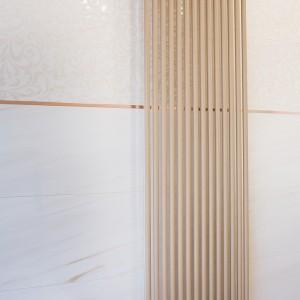 Koupelna Purity of Marble od Ceramiche Supergres - moderní pojetí radiátoru